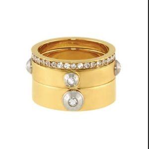 Henri Bendel Stackable Gold Ring